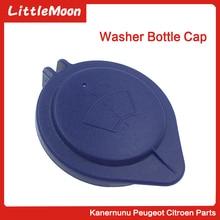 Little Moon Windscreen Washer Bottle Cap Car Wiper Spray Bottle Cover Cap For Peugeot 3008 407 5008 Citroen C5 C6 643237 New цены онлайн