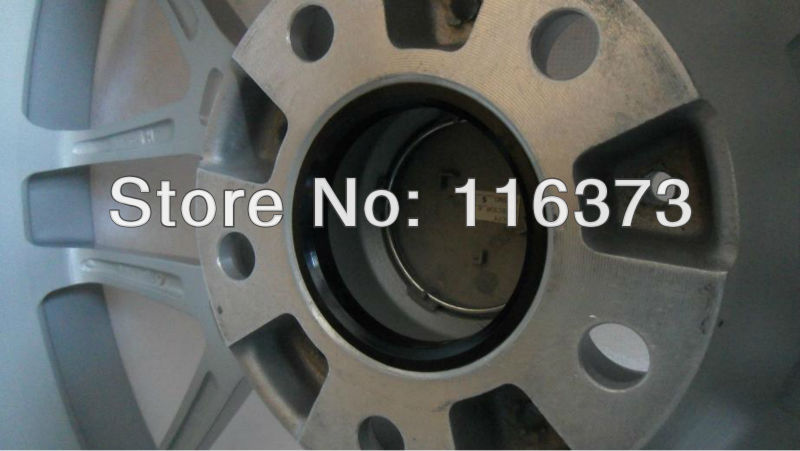 4 Polycarbon Plastics hub centric rings vehicle side 63.9mm to rims side 78.1mm