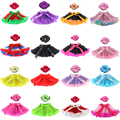 Saias Falda Newest Baby Girl Kids Tutu Skirts Hot Selling Pettiskirt And Headband Set For Custome Party Wedding Dancing Birthday