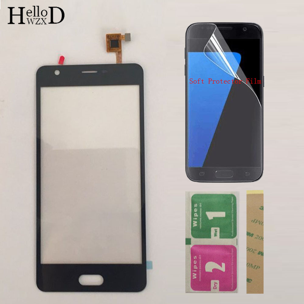 Touch Screen Digitizer Panel For Doogee X20 Touch Screen Digitizer Sensor Front Glass Panel Sensor + Protector Film