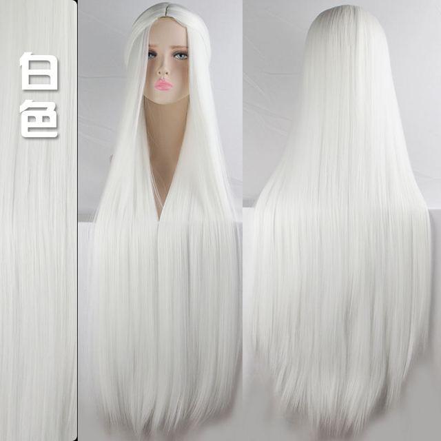 100cm Multicolor Wigs 2