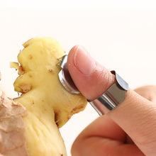 Stainless Steel Alloy Garlic Ginger Peeler Kitchen Gadget Chinese Chestnut Cutter Fruit Tools Gadgets
