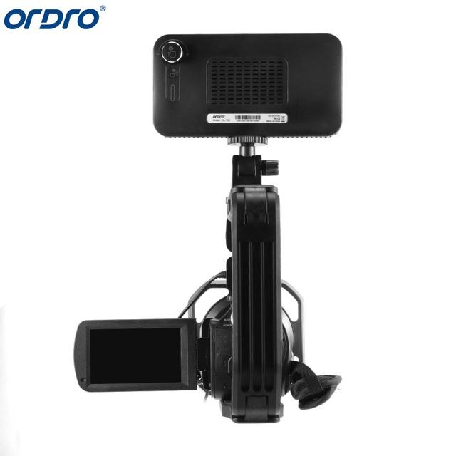 Ordro AC5 4K 12X Optical Zoom 24MP WiFi IPS Touch Screen Digital Camera+Lens Hood+Wide Angle Lens+Microphone+led Light+Handheld
