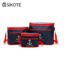 SIKOTE Portable 38L Cooler font b Bag b font For Food Preservation Storage Picnic Thermal font