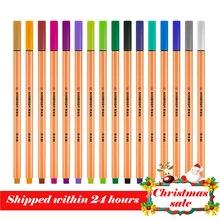 25 pcs 독일 stabilo 88 섬유 펜 0.4mm 괜 찮 스케치 바늘 기술 펜 다기능 잉크 젤 펜 마커 미술 용품에 대 한
