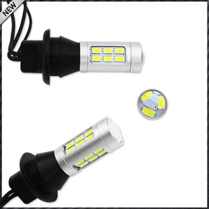 Image 2 - Ampoules de rechange, pour voiture, feux antibrouillard arrière et feux antibrouillard arrière, 2 pièces, 21 smd, double couleur, 7440 7444 T20 LED