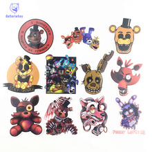 11Pcs Five Nights at Freddy Stickers style B Decal waterproof graffiti Doodle sticker skateboard decal toy