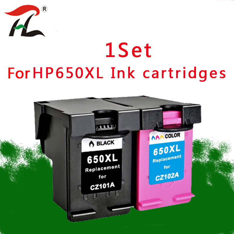 Compatible Ink Cartridge 650XL Replacement for <font><b>HP</b></font> 650 XL for HP650 Deskjet 1015 1515 2515 2545 2645 <font><b>3515</b></font> 3545 4515 4645 printer image