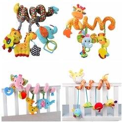 Детские игрушки-погремушки слон детские игрушки 0-12 месяцев новорожденный детская кроватка коляска Обучающие игрушки мобильный Bebek Oyuncak