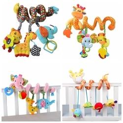 Chocalho brinquedos do bebê elefante brinquedos do bebê 0-12 meses recém-nascido infantil cama carrinho de criança brinquedo brinquedos educativos móvel bebek oyuncak