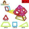 Littlove 30 unids mini avión helicóptero enlighten diseñador triángulo juguete magnético educativo ladrillos diy bloques de construcción de juguetes