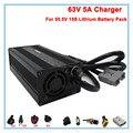 360W 55 5 V литиевая батарея зарядное устройство 63V 5A li-ion зарядное устройство 15S 20AH 30AH 50AH ebike зарядное устройство Бесплатная доставка