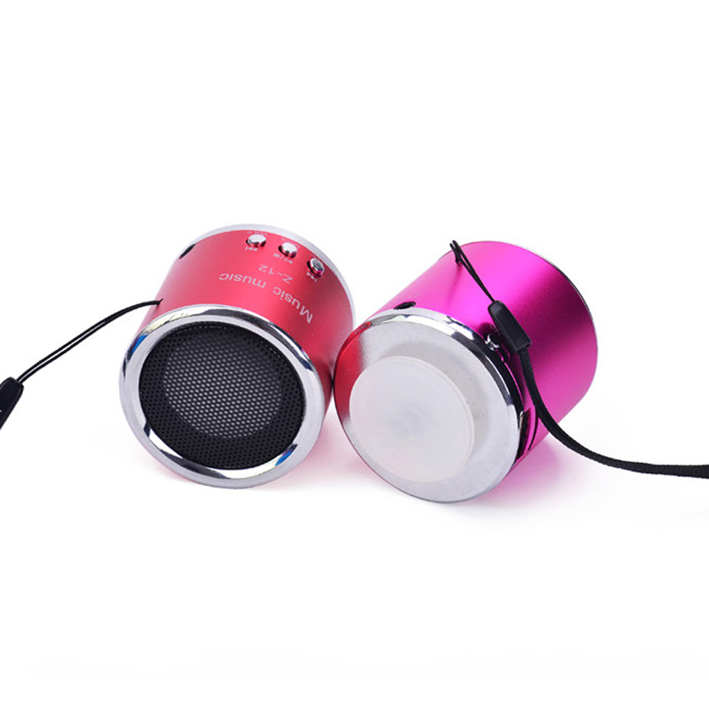 Mini Portable Speaker Loudspeakers Subwoofer Boombox Z 12 Column Dancing Music Box With Micro SD TF