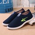 2016 новых мужская повседневная обувь педаль Мужчины Холст обувь весна и летом скольжения на толстых старого Пекина ботинки zapatos hombre