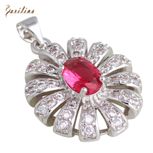 hot deal buy charismatic pendants fashion jewelry ruby topaz necklaces pendants for womens p281