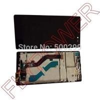 Para lenovo Vibe X2 X2-T0 Pantalla Lcd de Pantalla Táctil Digitalizador + Frame Asamblea negro por el envío libre