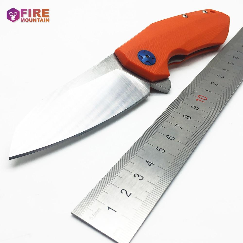 BMT 0456 Coltello a lama tattica pieghevole D2 Lama G10 Maniglia - Utensili manuali - Fotografia 3