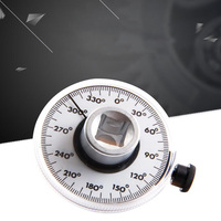 Torque Angle Gauge Goniometer Universal Angle Ruler Indexer Multifunction Protractor Equipment Angle Measuring Instrument