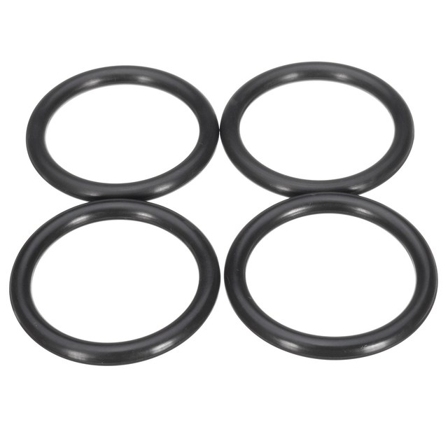 4PCS Black Quick Release Fasteners Replacement Rubber O Rings ...