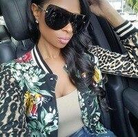 Top Quality Fashion Oversized Italy Brand Sunglasses Women UV400 Luxury Brand Designer Big Frame Sun Glasses