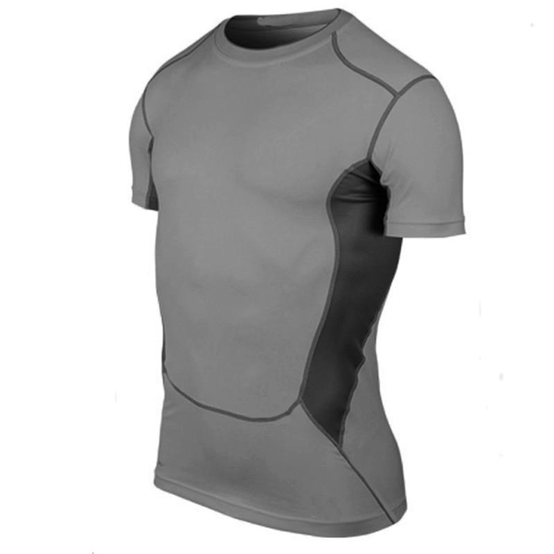 Yd Hot Logo Custom Man's T-shirt Sneldrogend Strakke Fitness top - Sportkleding en accessoires - Foto 3