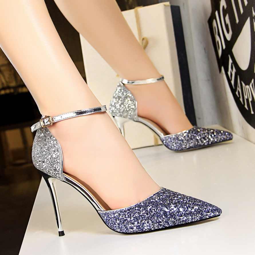 2020 Women 10cm Stiletto High Heels