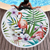 Round Patterned Beach Towel - Cover-Up - Beach Blanket 22