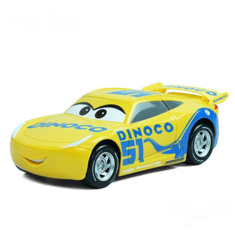 DISNEY PIXAR CARS 3 DINOCO CRUZ RAMIREZ WITH MINI POSTER SAVE 5/%