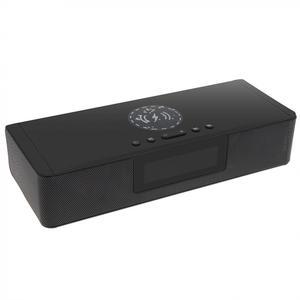 Image 2 - BS 39A built in microfone bluetooth soundbar alto falante com qi sem fio de carregamento e display led inteligente para telefone/pc/tv
