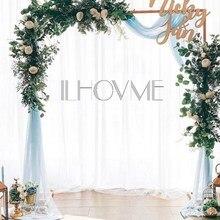 Квадратная железная свадебная АРКА, декоративный садовый фон, подставка, Цветочная рамка для свадьбы, дня рождения, свадебной вечеринки, украшение своими руками, арка