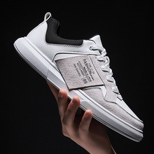 NINYOO Sport Fashion Walking Male Sneakers Brand Comfortable Casual Shoes Men Flats Breathable Soft Lace Up Outdoor Footwear 44 ecco fashion brand men s casual shoes cow leather walking footwear round head breathable comfortable outdoor sneakers shoes