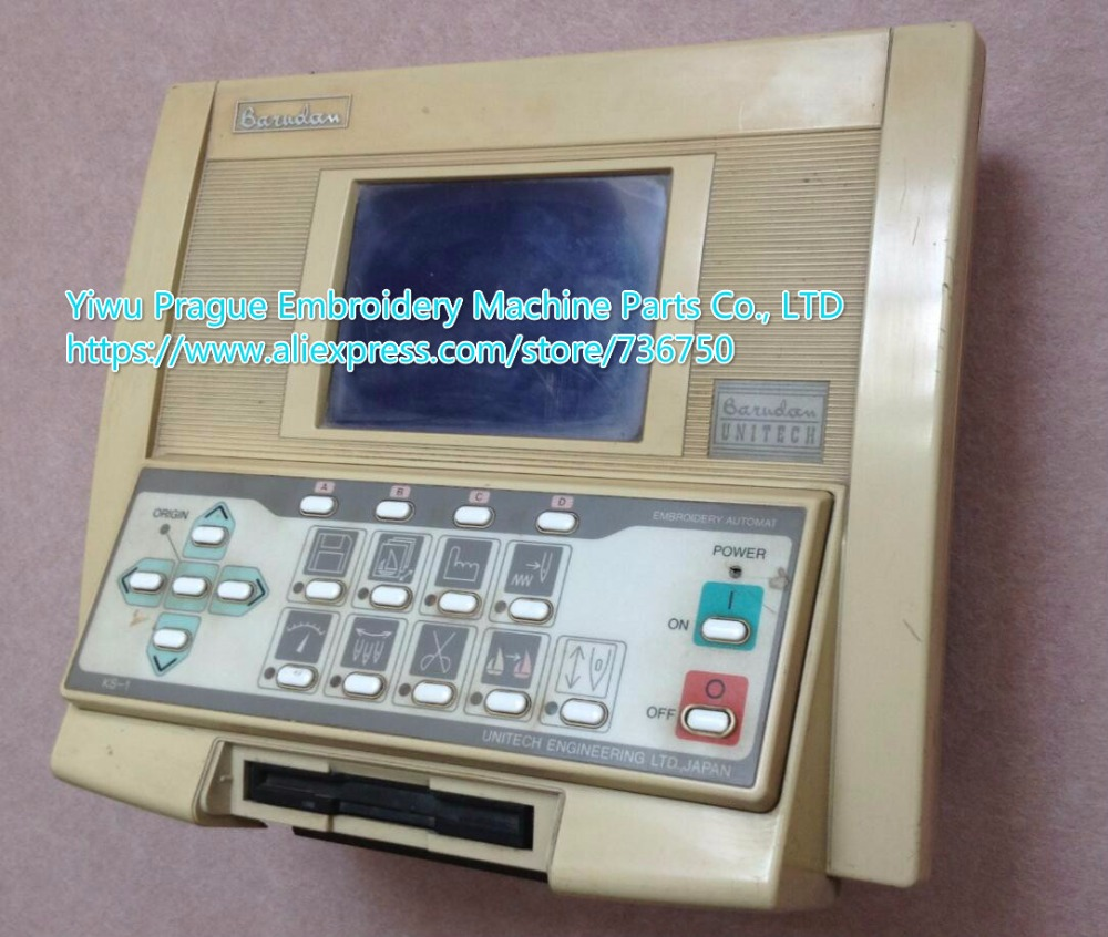 Original Used Barudan Embroidery Machine Control Panel Monitor Operation Box / Genuine Barudan Parts Offered By Store 736750