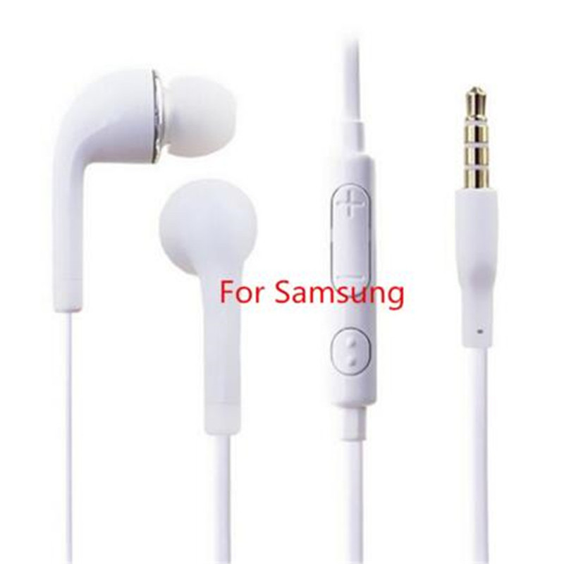 Image 2 - S4 In Ear Wired Earphone Heavy Bass Sound Stereo Music j5 earphones Sport Headset fone de ouvido With mic For Samsung S6 Xiaomi-in Earphones & Headphones from Consumer Electronics