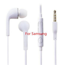 S4 In Ear Wired Earphone Heavy Bass Sound Stereo Music j5 earphones Sport Headset fone de ouvido With mic For Samsung S6 Xiaomi