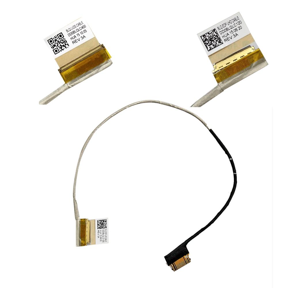LOT For Toshiba Satellite L50-C C55D-C C55T-C P55T-C LCD SCREEN CABLE DD0BLQLC120 DD0BLQLC400 40pin