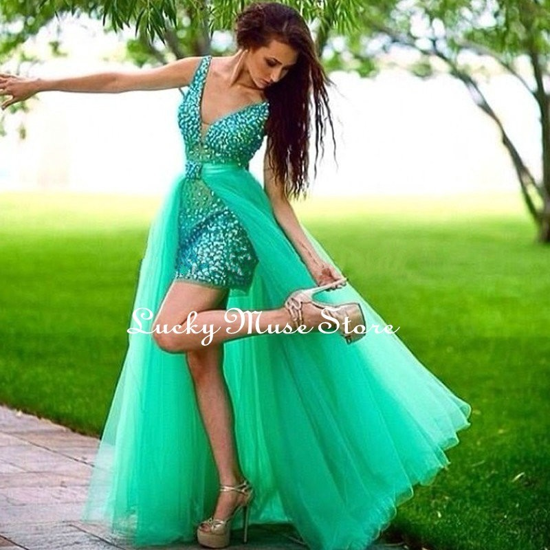 Best-Selling-Emerald-Green-Prom-Dresses-with-Detachable-Train-Sexy-V-Neckline-Tulle-Prom-Gowns-Elegant_conew1
