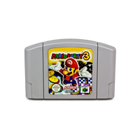Marioed Party 3 English Language for 64 bit USA Version Video Game Cartridge Console