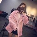 Women's real fur coat short paragraph sheep shearing fur coat winter jacket