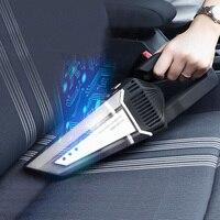 12V Mini Car Vacuum Cleaner Auto Car Portable Handheld Vacuum Cleaner Wireless Car Interior Cleaner Automotive Vacuum Cleaning