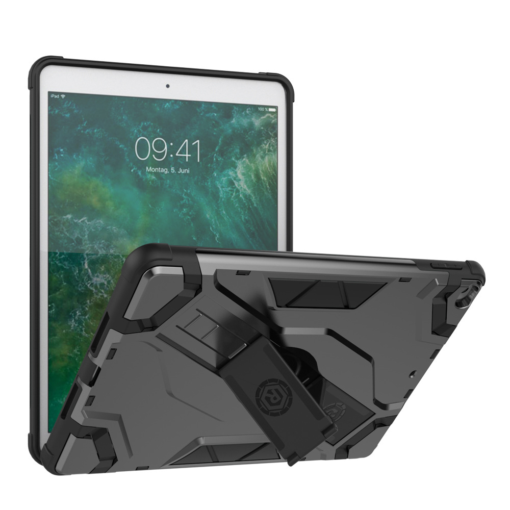 Case For Apple Ipad Air 1 Air 2 Hand Strap Holder Original Smart Case Rubber Cover Armor Shockproof For Ipad A1566 A1567 A1474
