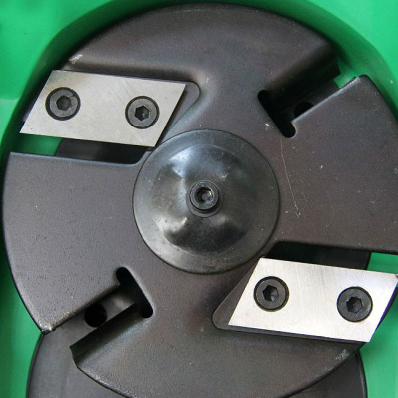 Image 5 - 1 pair Garden Shredder Chipper Blades Knifes for Eco ES1600 McCulloch MCS2001-in Tool Parts from Tools