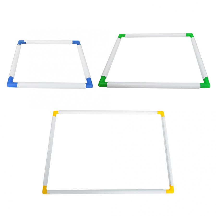 PVC Cross-stitch Clip Frame Plastic Square Quilting Embroidery Clip Frame DIY Tool