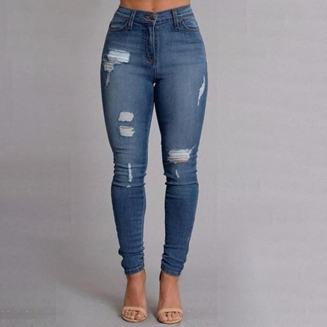 Aliexpress.com : Buy 2017 New Denim Women Ripped Jeans for Women ...
