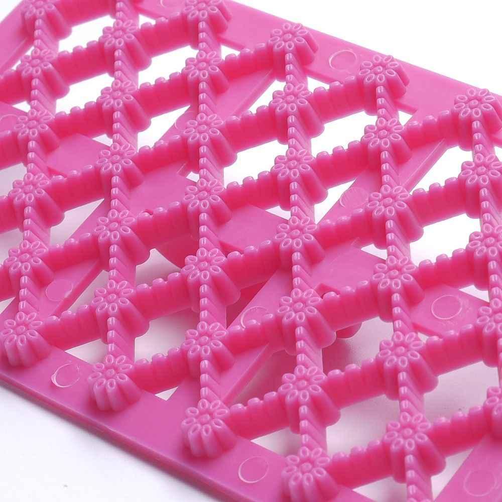 Forma de flor fondant cupcake embosser cortador molde de gelo em relevo moldes de biscoito açúcar artesanato bolo ferramentas de decoração