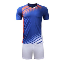 d88c93340 Adult and kids Soccer Jerseys Set Football outfit kids 2017 Kits Child  Futbol Training Suit soccer