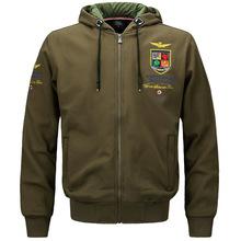 2017 Men s Solid Waterproof Windbreaker Coats Male Casual Slim Bomber Jacket Army Hoody Jacket Male