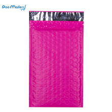 10pcs/4x8-Inch/130*180mm Poly Bubble Mailer Pink Self Seal Padded Envelopes