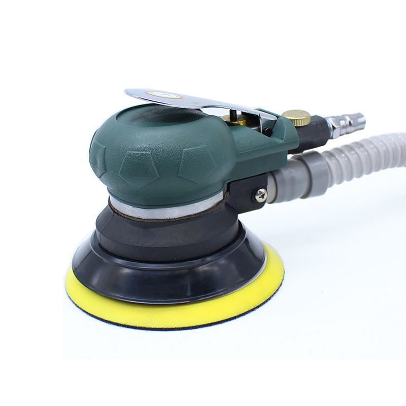 цена на 5 Inches Pneumatic Sander with Vacuum 125MM Pneumatic Sanding Machine Air Random Eccentric Sander Cars Polisher Air Car tools