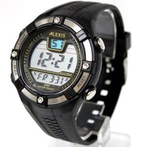 Image 2 - Moda esporte masculino relógios digitais resistente à água 3atm alexis marca homem data alarme backlight relógio digital dw381b