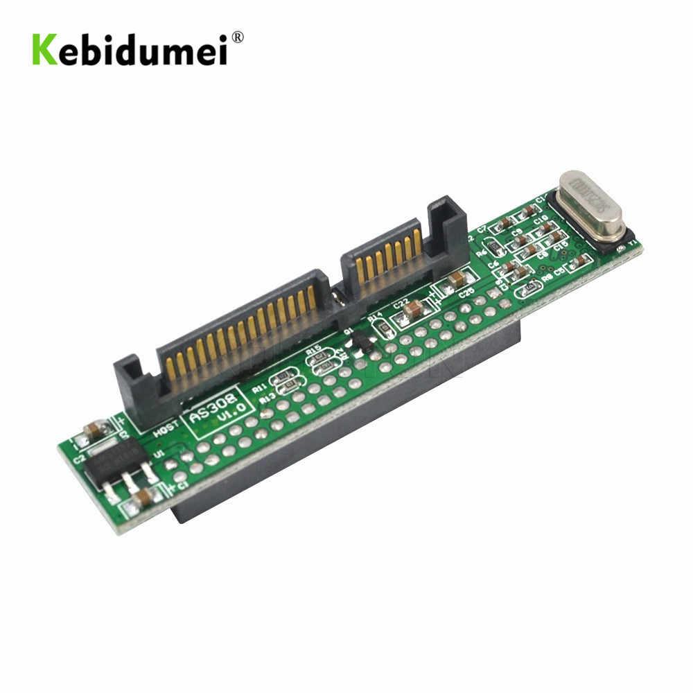 """Kebidumei IDE 44 pin 2.5 """"a SATA PC Adapter Converter 1.5Gbs Adattatore Seriale Convertitore ATA 133 100 HDD CD DVD di Serie Hard Disk"""